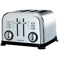 Morphy Richards  4 Slice Toaster - Polished Steel